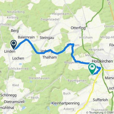 Berger Weg 8, Dietramszell nach Baumgartenstraße 39, Holzkirchen