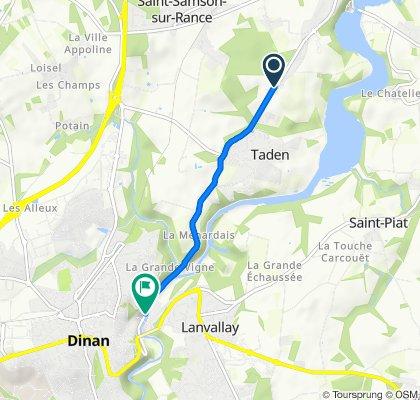 De 5 La Bouhourdais, Taden à 19 Rue du Quai, Dinan