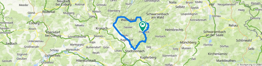 Birkenweg 4, Presseck nach Birkenweg 4, Presseck