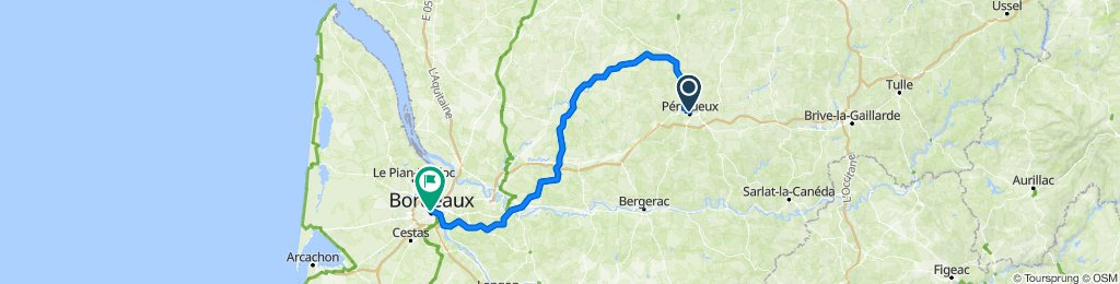 France- Perigueux to Bordeaux
