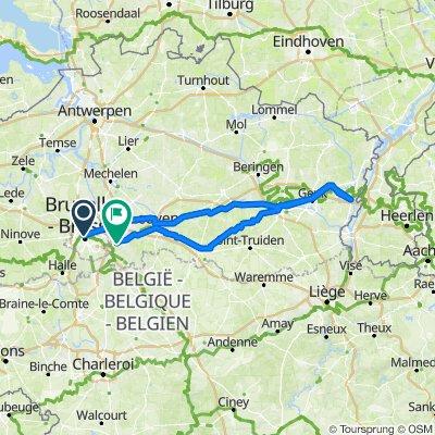 BXL to Limburg