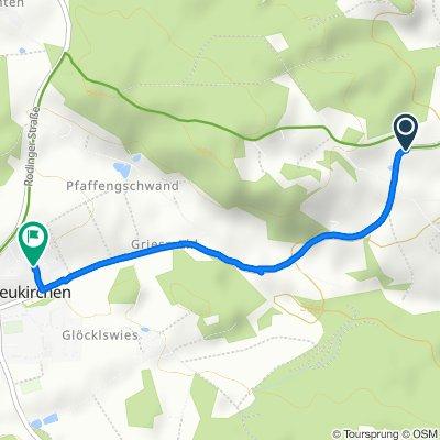 Ponholz 8, Michelsneukirchen nach Schindelfeldstraße 12, Michelsneukirchen