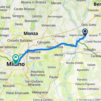 Da Via Piave 26, Pontirolo Nuovo a Piazza del Duomo, Milano