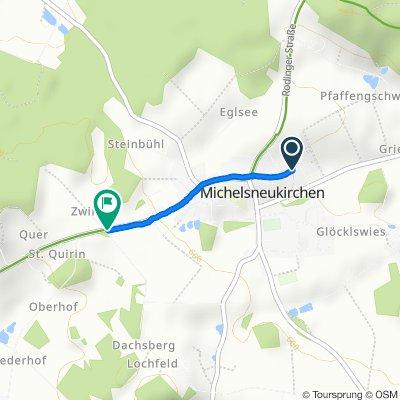 Schindelfeldstraße 12, Michelsneukirchen nach Falkensteiner Straße 18–18A, Michelsneukirchen