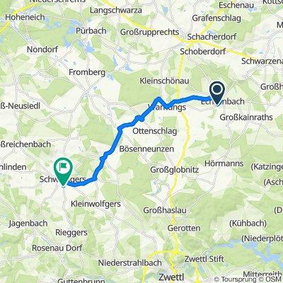 Steingraben 22, Echsenbach nach Windhager Straße 22, Schweiggers
