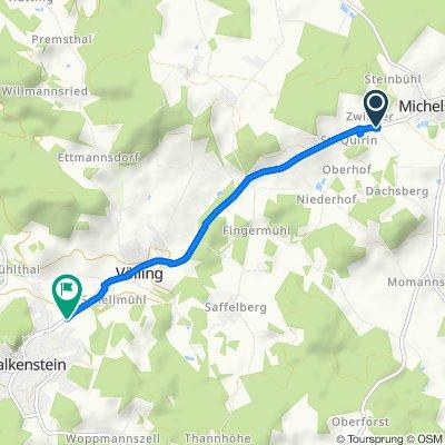 Falkensteiner Straße 18–18A, Michelsneukirchen nach Schellmühl, Falkenstein