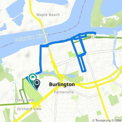 936 Woodland Ave, Burlington to 450–458 Uhler Ave, Burlington