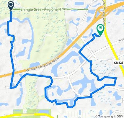 13100 Town Loop Blvd, Orlando to 4057 Viosca Pl, Orlando