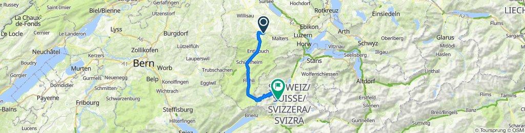 Bernstrasse 11, Werthenstein nach Bürglenstrasse 4–6, Lungern
