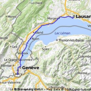 Lausanne - Genève 16.10.10