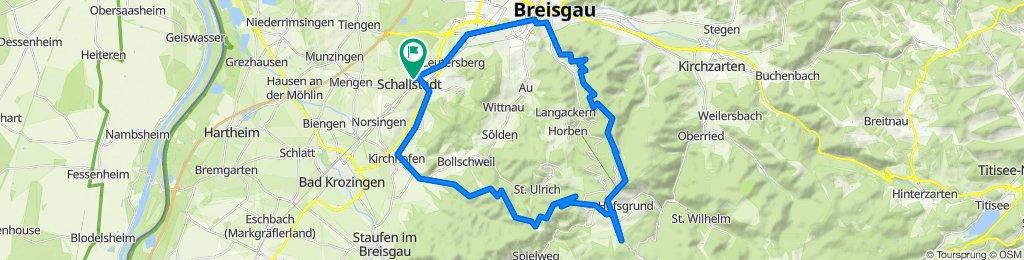 Auf der Viehweid 15, Schallstadt nach Schwarzwaldstraße 28, Schallstadt