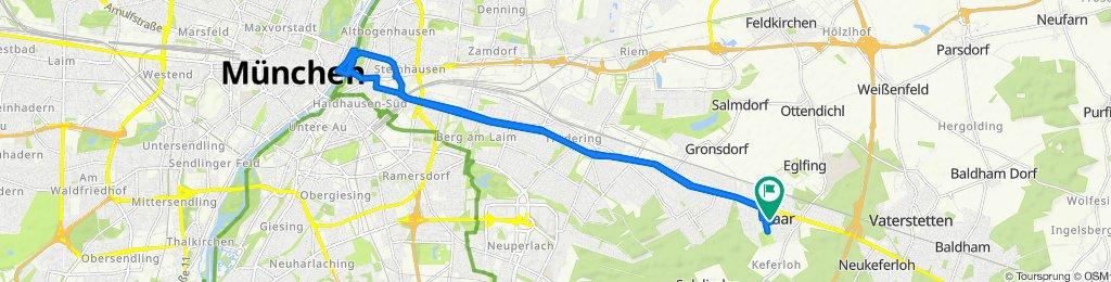 Ludwig-Thoma-Straße 85, Haar nach Ludwig-Thoma-Straße 85, Haar