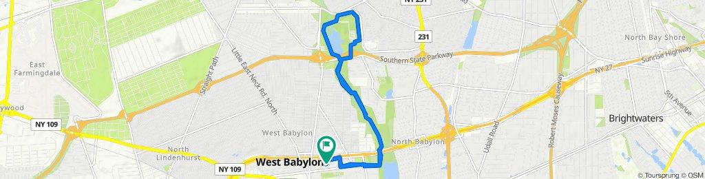 18 Strand Pl, West Babylon to 12 Strand Pl, West Babylon
