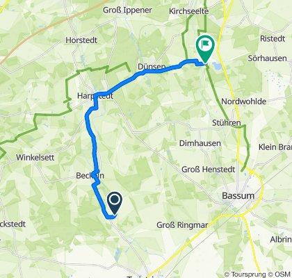 Zum Hohnholz 8–11, Twistringen nach Gräfinghausen, Bassum