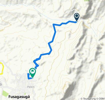 De Fusagasuga - Sibate, La Aguadita a Fusagasugá