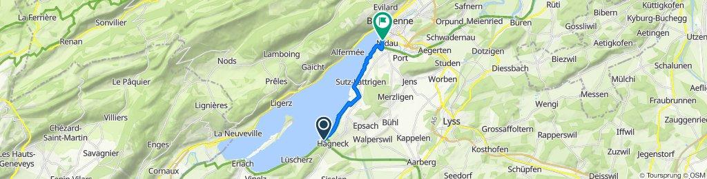 Biel to Lüscherz and back