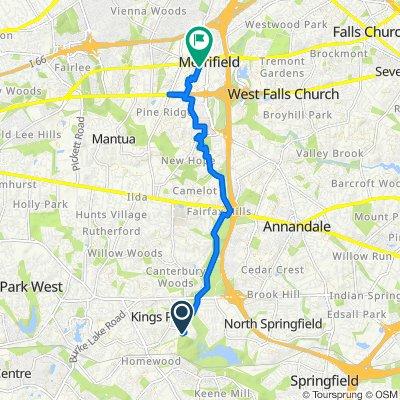 Kirkham Court 5612, Springfield to District Avenue 160, Fairfax