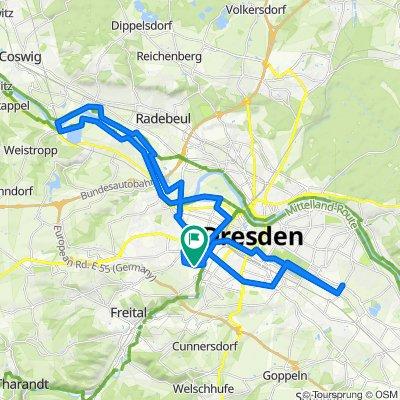 tour 200911 quer durch dresden