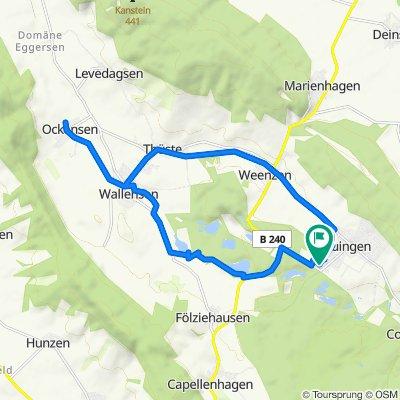 Duingen Zuhause -  Humboldsee  -  Weenzen. - Zuhause