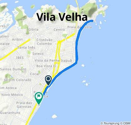 De Rua 5, 27, Vila Velha a Avenida Estudante José Júlio de Souza, 2201, Vila Velha