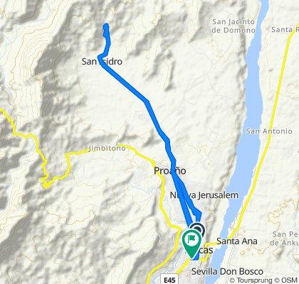 ruta de san Isidro cascadas