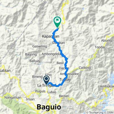 Route to Paykek, Kapangan