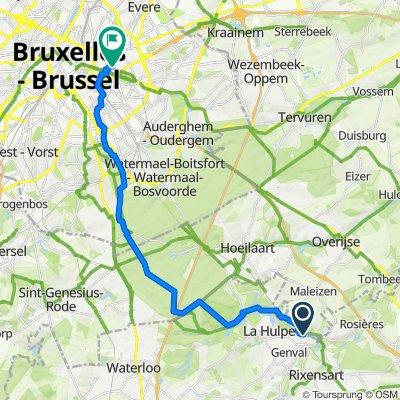 Martin's Bike : Château du Lac-Brussels EU