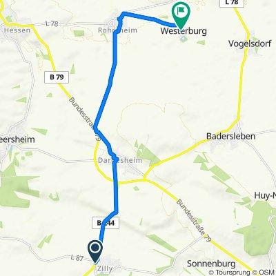 Wernigeröder Straße 3–6, Osterwieck to Westerburg 19, Huy
