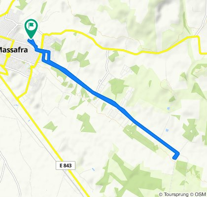Da Via D'erchia Antonio Mons 12/U, Massafra a Via D'erchia Antonio Mons 12/U, Massafra