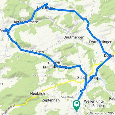 K7157 77, Schömberg nach K7157 77, Schömberg