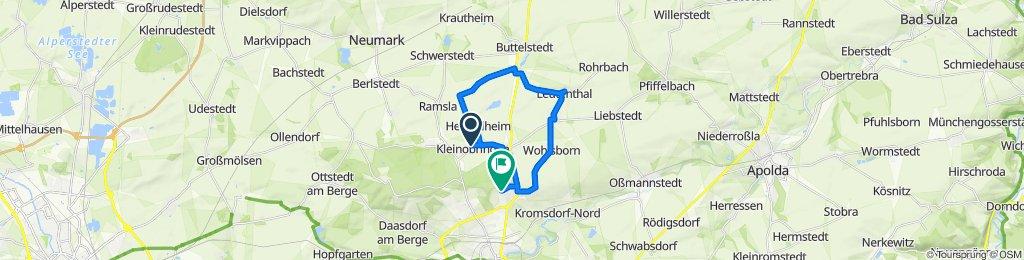 Großobringer Straße 18, Kleinobringen nach Im Winkel 2, Weimar