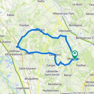 De D15 658, Montjoire à D15 658, Montjoire