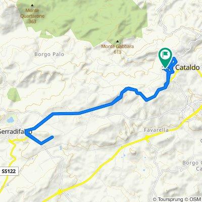 Percorso per Viale degli Tigli 79B, San Cataldo
