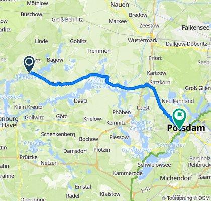 Ketzürer Dorfstraße 24A, Beetzseeheide nach Allee nach Sanssouci 7, Potsdam