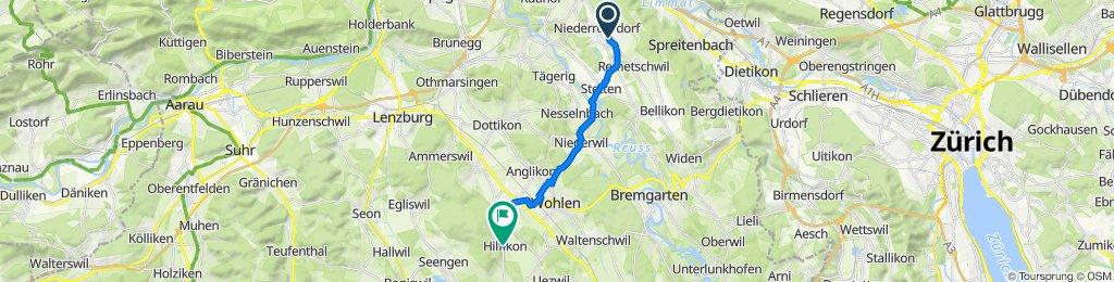 Brüggliacher 3, Oberrohrdorf nach Hauptstrasse 16, Hilfikon
