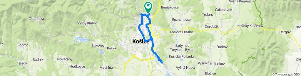 Helsinská 25–41, Košice do Helsinská 2626/5, Košice
