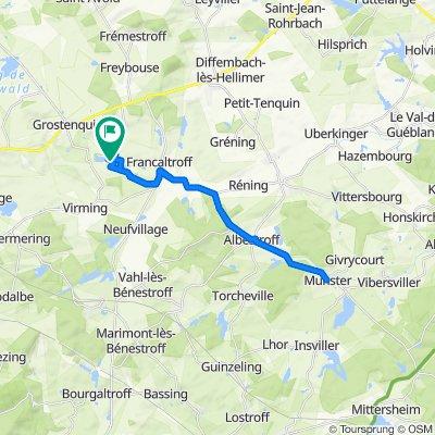 Domaine de la Tensch 5076F, Grostenquin nach Domaine de la Tensch 5076F, Grostenquin