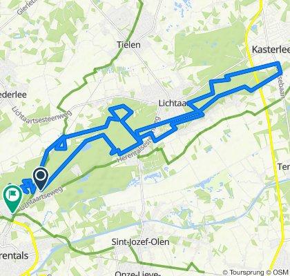 Lavendelweg 32, Herentals naar Wijngaard 70, Herentals