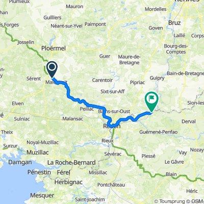 De Launay, Saint-Marcel à D15 2, Guémené-Penfao
