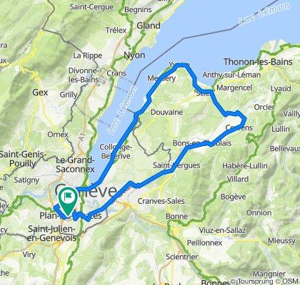 De Route du Vélodrome 54, Plan-les-Ouates à Route du Vélodrome 26, Plan-les-Ouates
