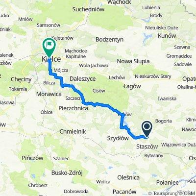 Kopanina do Czarnowska 12, Kielce
