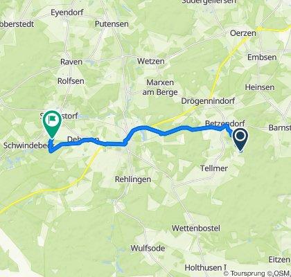 Glüsingen 3, Betzendorf nach Hof Thansen 7, Soderstorf