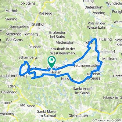 Galgenkreuz Weg 19, Groß Sankt Florian nach Galgenkreuz Weg 19, Groß Sankt Florian