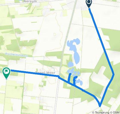 Route von Zur Brandheide 6A–16, Neuenkirchen