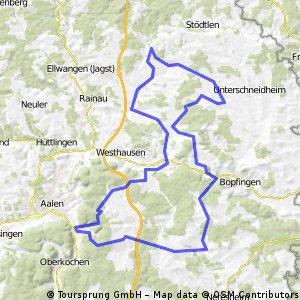 Tour Mittelschwere Härtsfeldroute