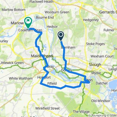 La Geneste, Rose Hill, Slough to Winter Hill, Cookham, Maidenhead