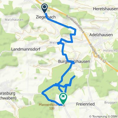 Sankt-Michael-Straße, Dasing nach Hergertswiesen 4, Eurasburg