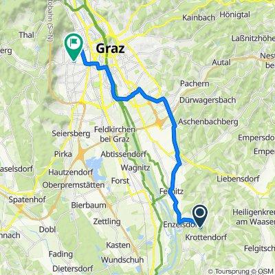 Wutschdorf, Heiligenkreuz am Waasen nach Gaswerkstraße 92, Graz