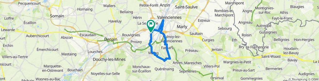 Tour Trith 20 km