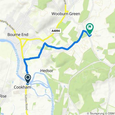 Bridge House, Ferry Lane, Maidenhead to 2 Wooburn Common Road, Wooburn Green, High Wycombe